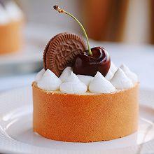 蛋糕卷新创意做法:樱桃切片奶油蛋糕卷