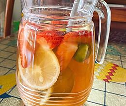 #美食视频挑战赛#蜂蜜水果茶的做法