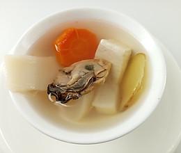 补钙食谱 | 三白牡蛎汤,促进骨骼生长,防止骨质疏松的做法