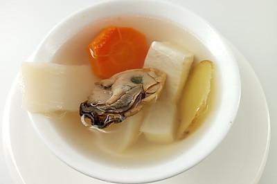 补钙食谱 | 三白牡蛎汤,促进骨骼生长,防止骨质疏松