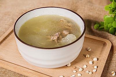 滋阴养胃去湿--老鸭冬瓜薏米汤