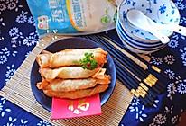 鲜虾芝士春卷#香雪让年更有味#的做法