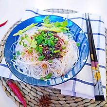 凉拌粉丝#快手又营养,我家的冬日必备菜品#