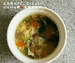 芙蓉蔬菜汤的做法
