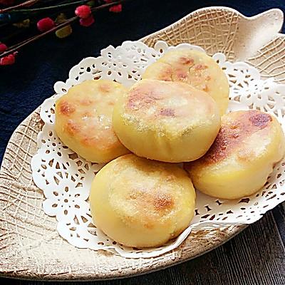玉米红豆饼