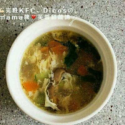 芙蓉蔬菜汤