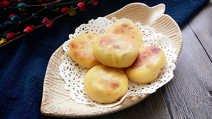 玉米红豆饼#发现粗粮之美#