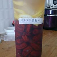 柠檬红枣果醋的做法图解3
