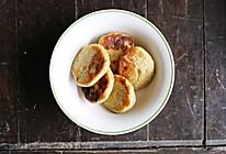 无蛋无奶无糖纯素香蕉玉米饼——健身减脂餐的做法