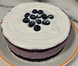 蓝莓慕斯蛋糕的做法