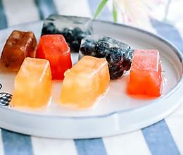 夏日吃水果的正确方式——水果冻的做法