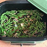四季豆炒肉丝的做法图解5