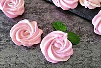 #冰箱剩余食材大改造#玫瑰花马林糖的做法