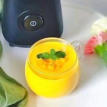 #换着花样吃早餐#芒果燕麦奶昔~早餐来一份是极好的