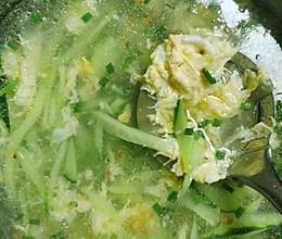 黄瓜鸡蛋汤的做法