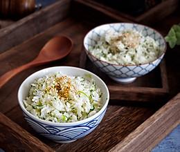 快手早餐—营养青菜饭的做法