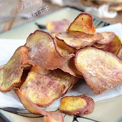 空气炸锅试用报告之孜然红薯片