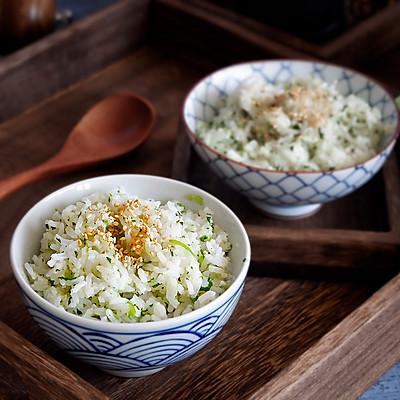 快手早餐—营养青菜饭
