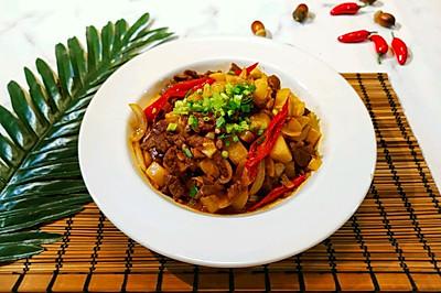酸萝卜泡椒炒牛肉