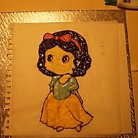 白雪公主生日蛋糕——长帝CKTF-32GS试用的做法图解12