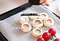 #春日时令,美味尝鲜#豆苗滑蛋开放式吐司的做法