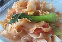 西红柿鸡蛋炒刀削的做法