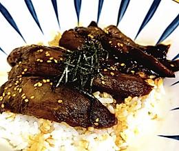 赛鳗鱼的蒲烧茄子饭的做法