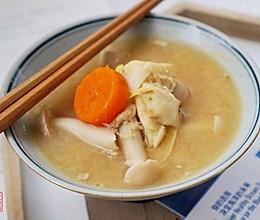 日式冬笋鳕鱼汤的做法