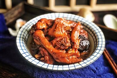 炒糖色有妙招的紅燒雞塊