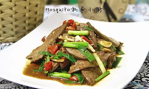 小炒猪肝(爆炒系列)【Mosquito私家小厨】的做法
