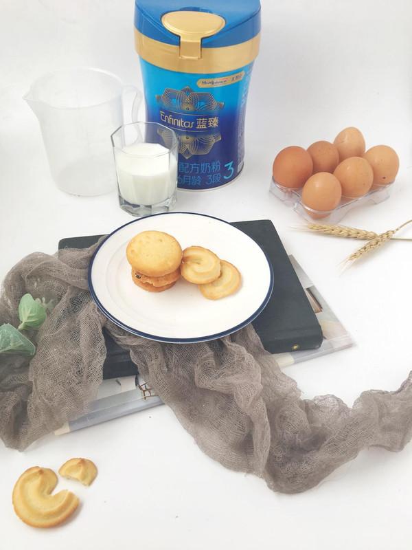 奶粉不光可以喝,还可以给宝宝做成饼干
