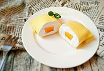 芒果班戟(无黄油低卡版)#蔚爱边吃边旅行#的做法
