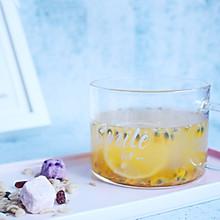 #夏日消暑,非它莫属#【百香果蜂蜜柠檬茶】 酸甜可口