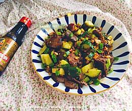#不容错过的鲜美滋味#黄瓜拌牛肉的做法