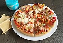 培根大虾厚底披萨的做法
