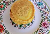 #换着花样吃早餐#玉米面松饼的做法