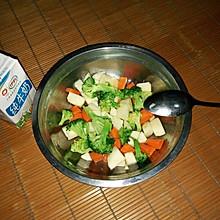 健康减肥蔬菜水果沙拉