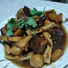 #下饭红烧菜#红烧肉焖蛋炖土豆