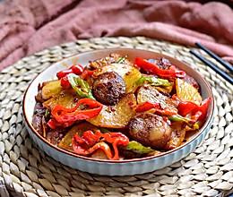香辣干锅土豆片的做法