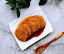#一道菜表白豆果美食#软糯香甜的桂花红枣糯米藕的做法