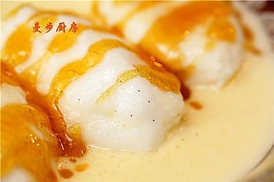 【曼步厨房】- 雪花蛋奶 Oeufs à la neige