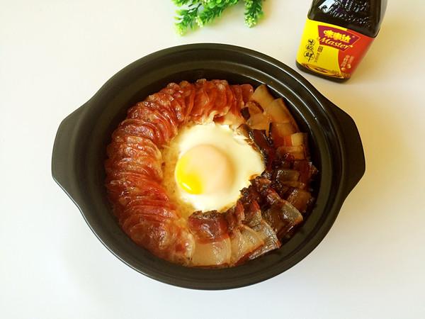 腊肉煲仔饭#鲜的团圆味#的做法