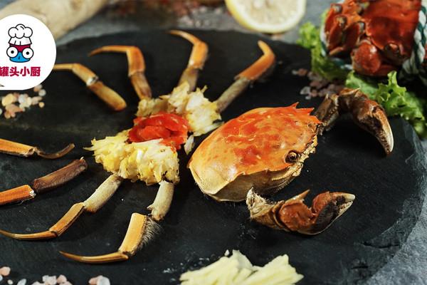 大闸蟹的正确吃法的做法