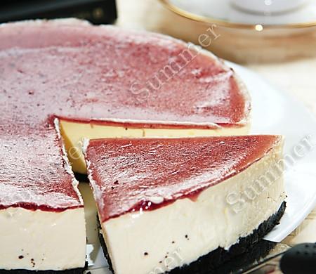 蓝莓芝士蛋糕(不用烤箱版)