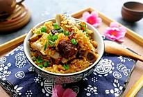 #寻味外婆乡#香香糯糯的香菇排骨饭的做法