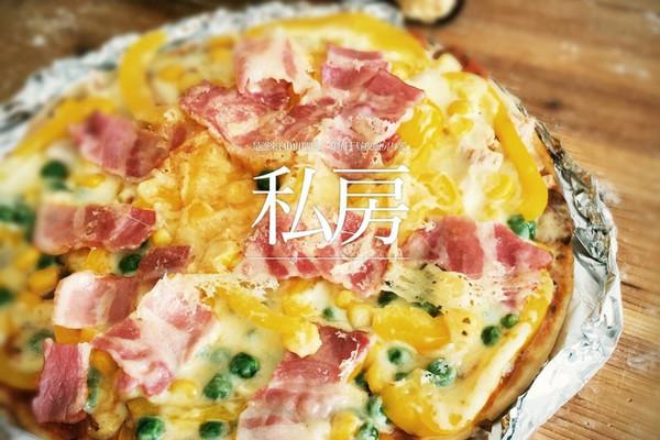 利仁电饼铛试用——海陆双拼披萨(附薄饼底与披萨酱制作)的做法