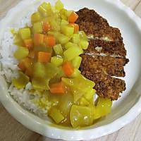 咖喱洋葱虾排饭的做法图解13