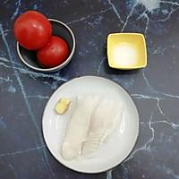 #母亲节,给妈妈做道菜#西红柿龙利鱼汤的做法图解1