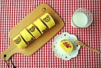 彩绘小熊芒果草莓蛋糕卷#豆果5周年#的做法