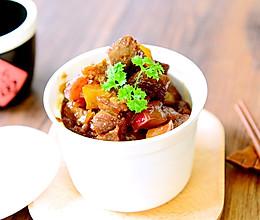 家常菜-红焖羊肉萝卜煲-海鲜酱版的做法
